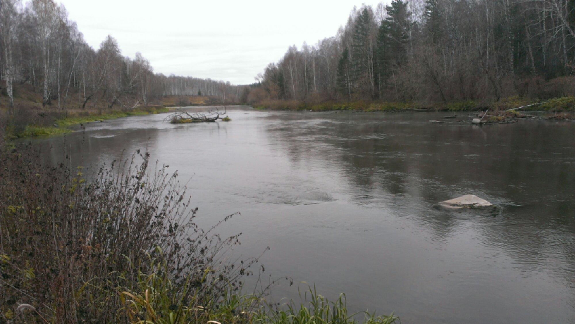 перекаты на реке Миасс