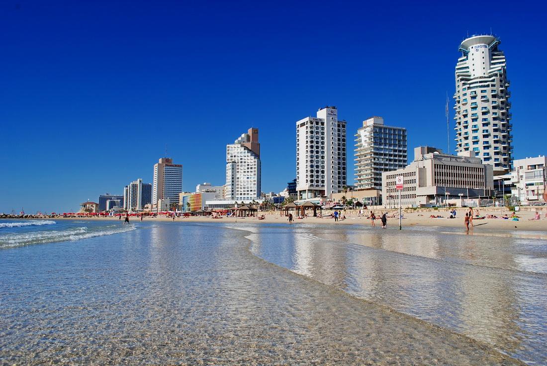 Тель-Авив. Набережная Средиземного моря