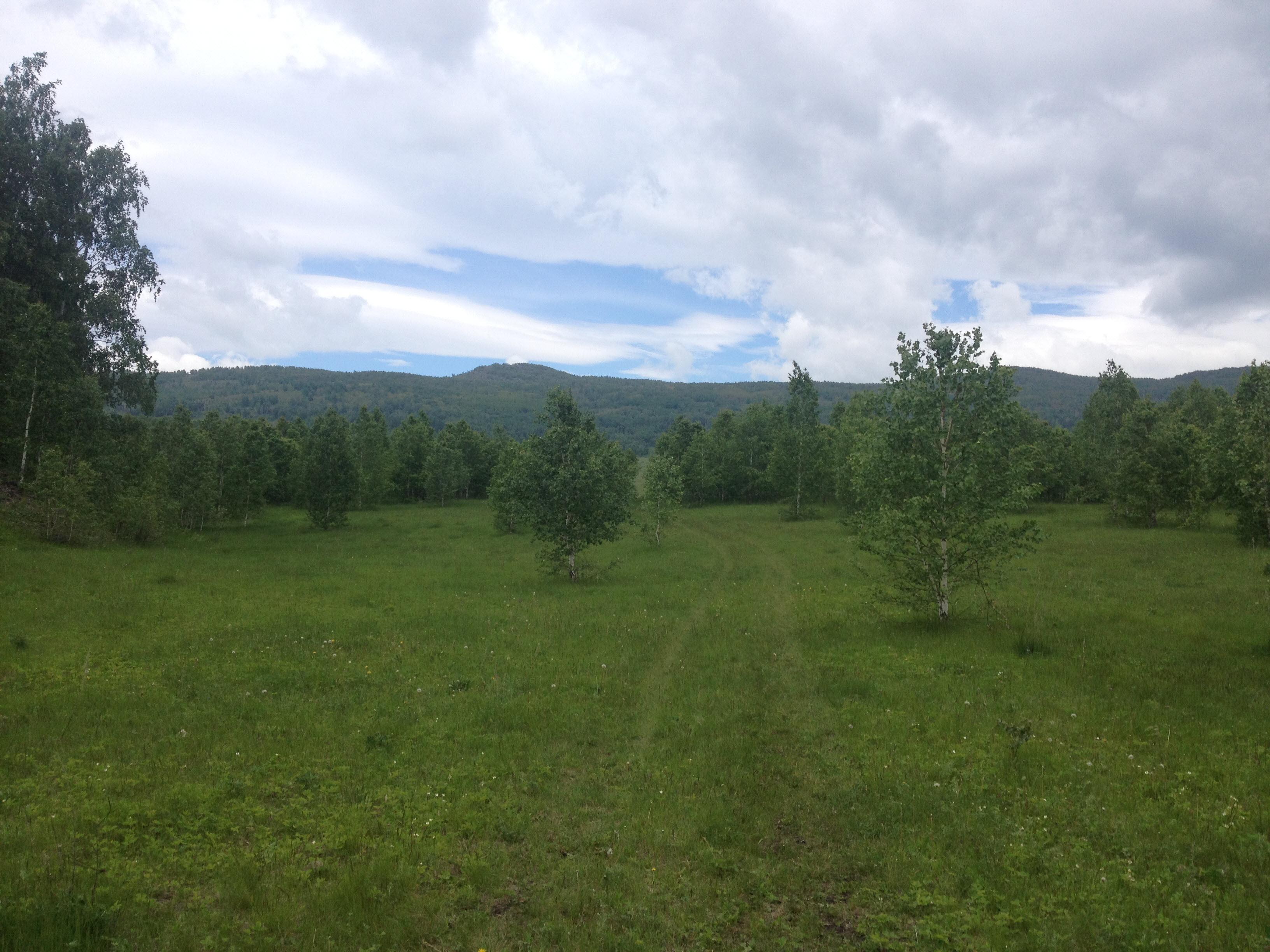 дорога к горе Кленовая