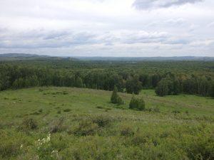 холмы у подножья горы Кленовая