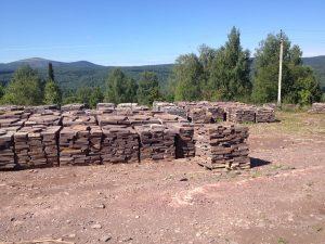 хранилище камня Уральских гор
