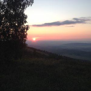 вид с утренней кленовой горы